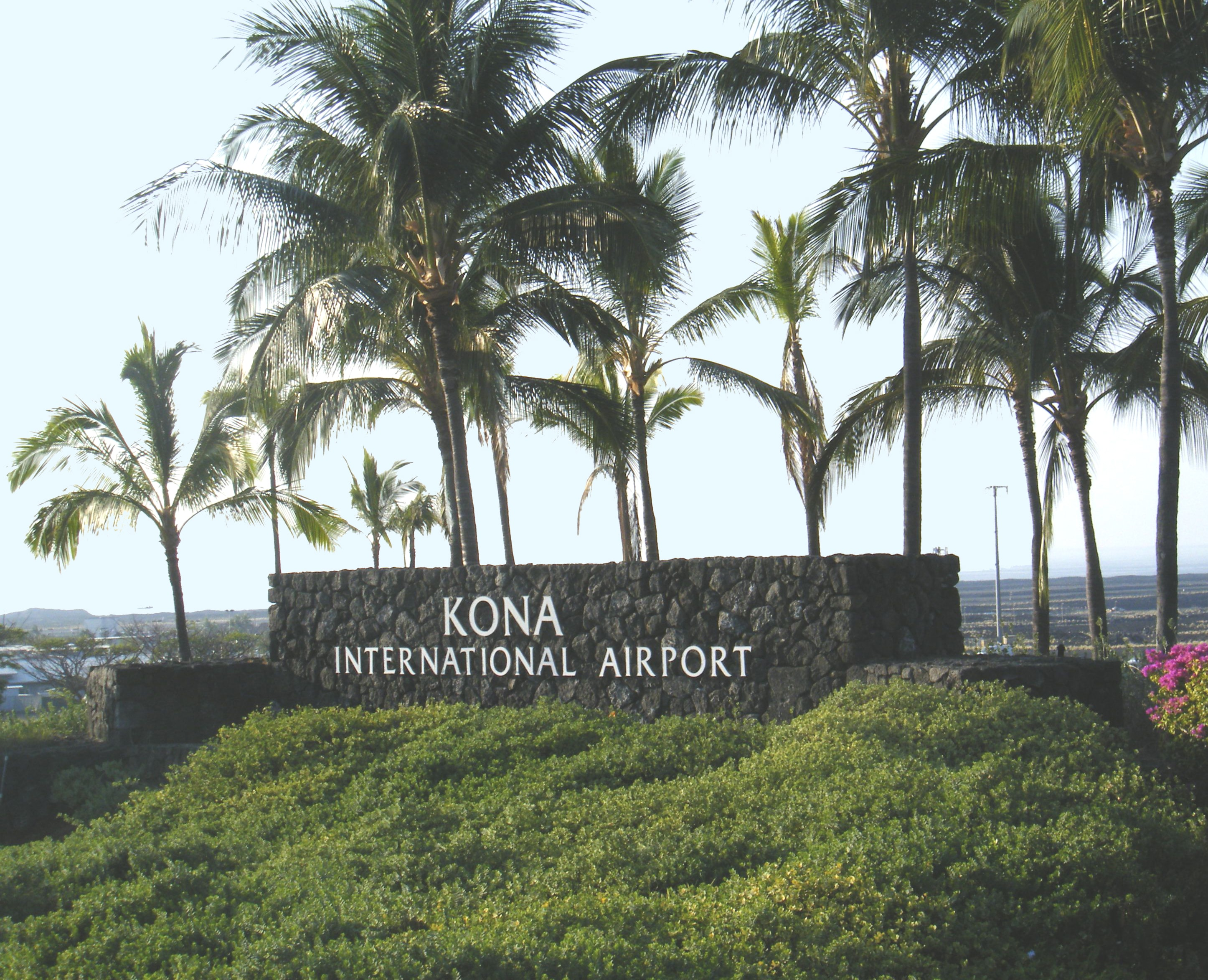 Kona International Airport Koa Guide Terminal Map Airport